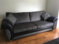 Sofa's 1 x 4 seater, 1 x 3 seater