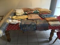 Large amount of curtain/upholstery fabric