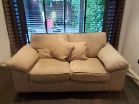 Excellent quality two seater sofa (Fabric)