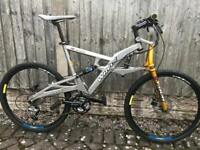 Whyte jw2 full suspension mountain bike