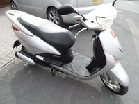 Honda NHX 110 WH-8. WITH REALLY LOW MILEAGE. JUST BEEN REDUCED