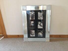 Large mirrored photo frames 40cm x 60cm