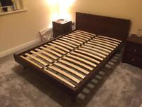 Contemporary Next double bed frame