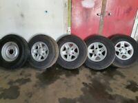 Landrover defender alloy wheels