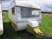 Avondale Wren vintage 2 Berth Caravan 1970's