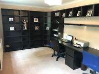 Office Furniture Set / Bookshelves