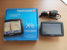 Tom Tom satnav, for USA and Canada only, NOT Europe,