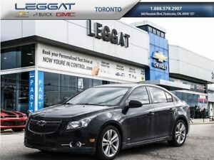 2014 Chevrolet Cruze RS PACKAGE/LEATHER HEATED SEATS/MOONROOF