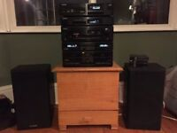 Pioneer Hi-Fi separates - F-Z92L, DC-Z92 , PD-Z82M, PL-Z92