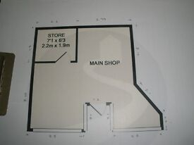Lock-up retail unit in good catchment area