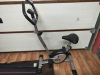 Lonsdale exercise bike. 8 months old. Fair in condition.
