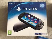 Ps vita bundle, immaculate condition , with box, two games , 16g memory card, official case