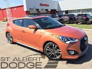 2016 Hyundai Veloster TURBO | HEATED LEATHER | BACK CAM | PAN SU