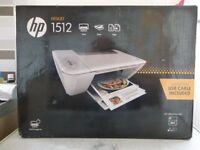 hp deskjet 1512 printer / 3 in 1 print/scan/ copyer COMES IN THE BOX