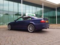 Very rare BMW M3 CS Interlagos Blue SMG 2005