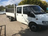 Ford transit 125t350 2002(02) crew cab truck with tail lift