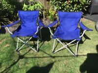 Collapsible chairs