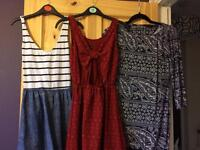 10 dresses! Size 6/small 8s