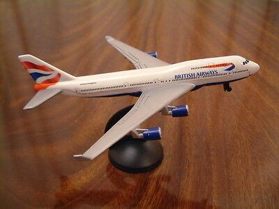 British Airways Boeing 747-400 Druckguss Metall Modell Ba Jet Spielzeug Flugzeug