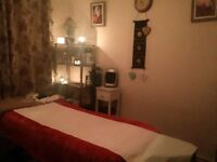 Thai massage helps to relieve stress and promotes an overall feeling of relaxation and well being