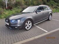 Audi A4, S Line, Avant, Excellent Condition Throughout, Full Audi Service History, MOT to May 2018
