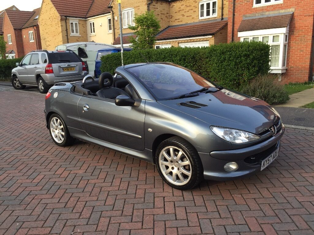 reduced for quick sale peugeot 206 cc convertible. Black Bedroom Furniture Sets. Home Design Ideas