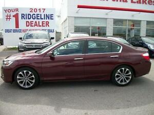2013 Honda Accord Sport Sedan CVT/NEW 18 INCH GOODYEAR TIRES!!! Kawartha Lakes Peterborough Area image 7