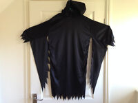 Halloween Boys or Girls Vampire Cape age 12+ years with hood