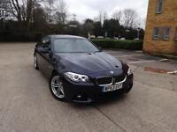 BMW 5 Series 520d M Sport (black) 2013
