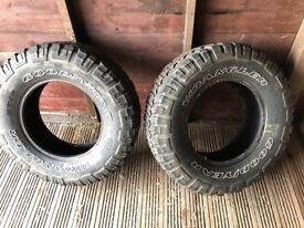 Mud/ off road / all terrain tyres