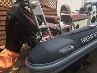 Highfield Ocean master 460 rib for sale