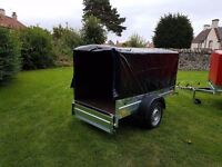 NEW Car trailers 6' x 4' 1,2 WITH COVER FIX PRICE ��450 inc vat