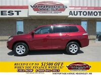 2008 Toyota Highlander CANDY APPLE RED  NEW GENERATION V6 4X4 FU