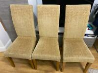 Set of 3 chairs