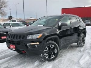 2017 Jeep Compass TRAILHAWK**LEATHER**NAVIGATION**BACK UP CAMERA