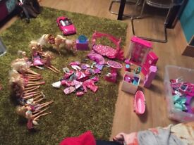 Large BARBIE Collection (2 boxes)