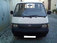Left hand drive Toyota Hiace H15 2.5 diesel mini bus. MOT till 2018.