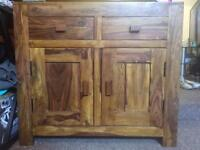 Solid oak Sideboard good storage NEED GONE ASAP lowered price