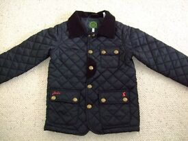 Joules Black Boy's padded jacket - age 4 years