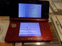 red 3ds console and 6 games look bargain