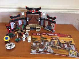 Lego ninjago training temple.