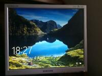 "17"" Samsung Computer Screen"