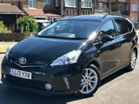PCO rentals PHV UBER ready cars for hire Toyota Prius, Prius and Auris CVT Hybrid (5+7 Seaters)