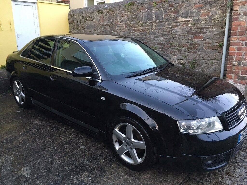 audi a4 b6 1 8t quattro black in plymouth devon gumtree. Black Bedroom Furniture Sets. Home Design Ideas