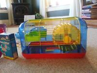 Habitrail Hamster cage and accessories