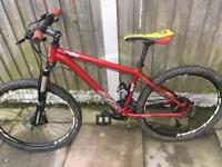 Men's / teen voodoo hoodo mountain bike