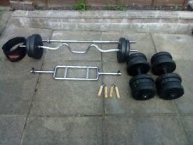 Set of bars