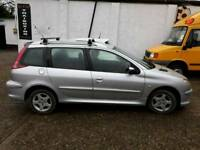 Peugeot 206 sw verve 14 petrol 78000 on the clock mot end October swap wot s out there