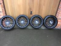 "Alloy Wheels - Team Dynamics Monza R - 18"""