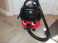 HENRY HOOVER VACUUM CLEANER - HARDLY USED